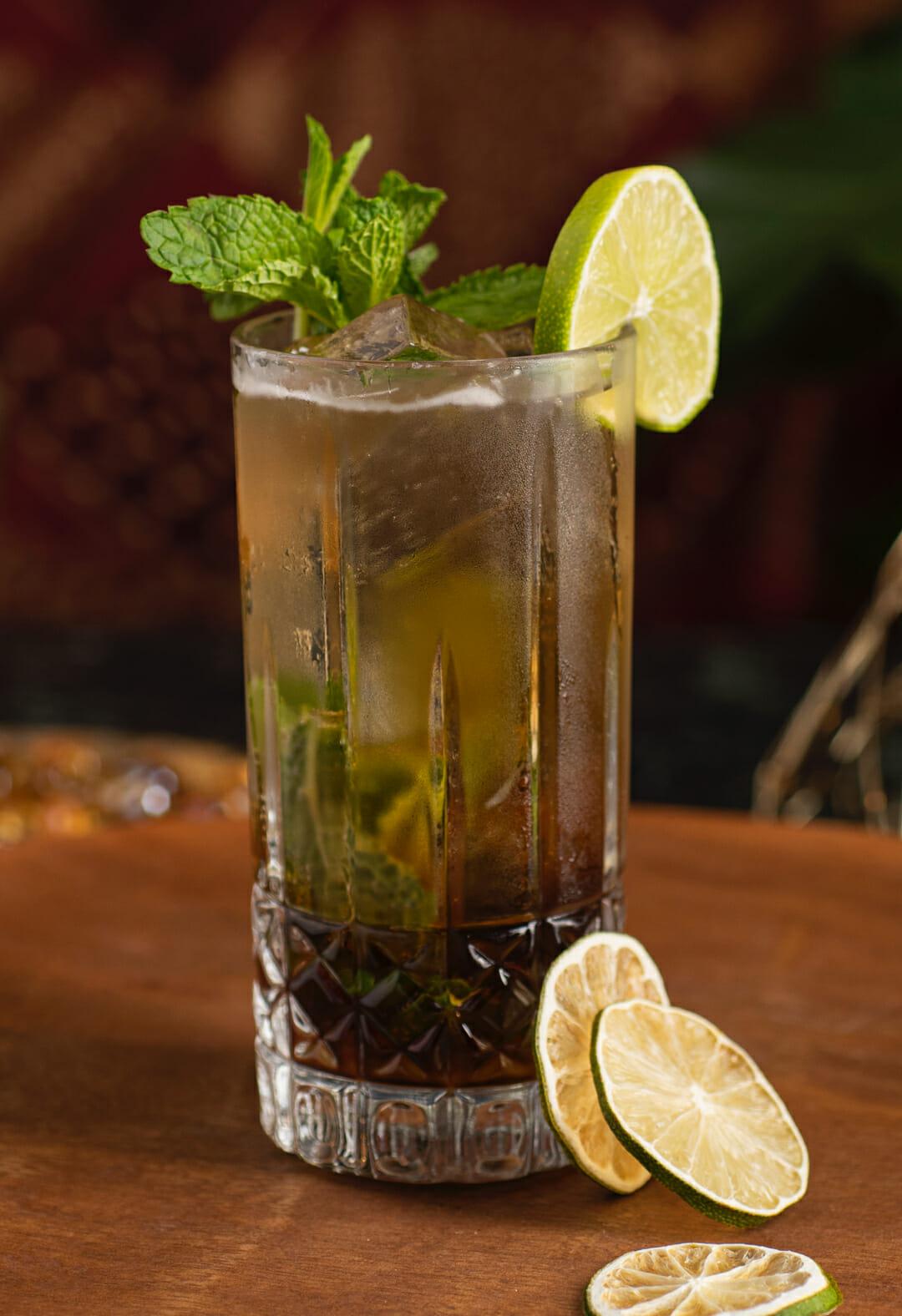 Zaya Mojito cocktail
