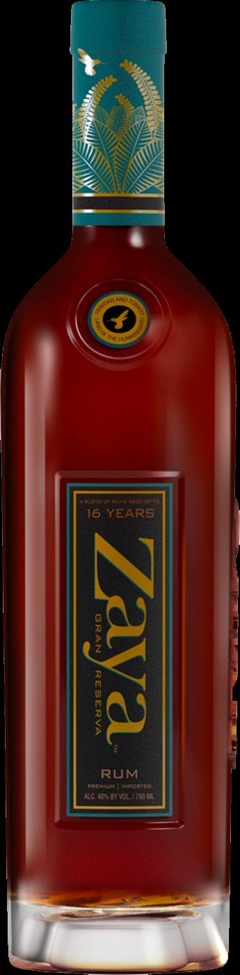 zaya rum bottle