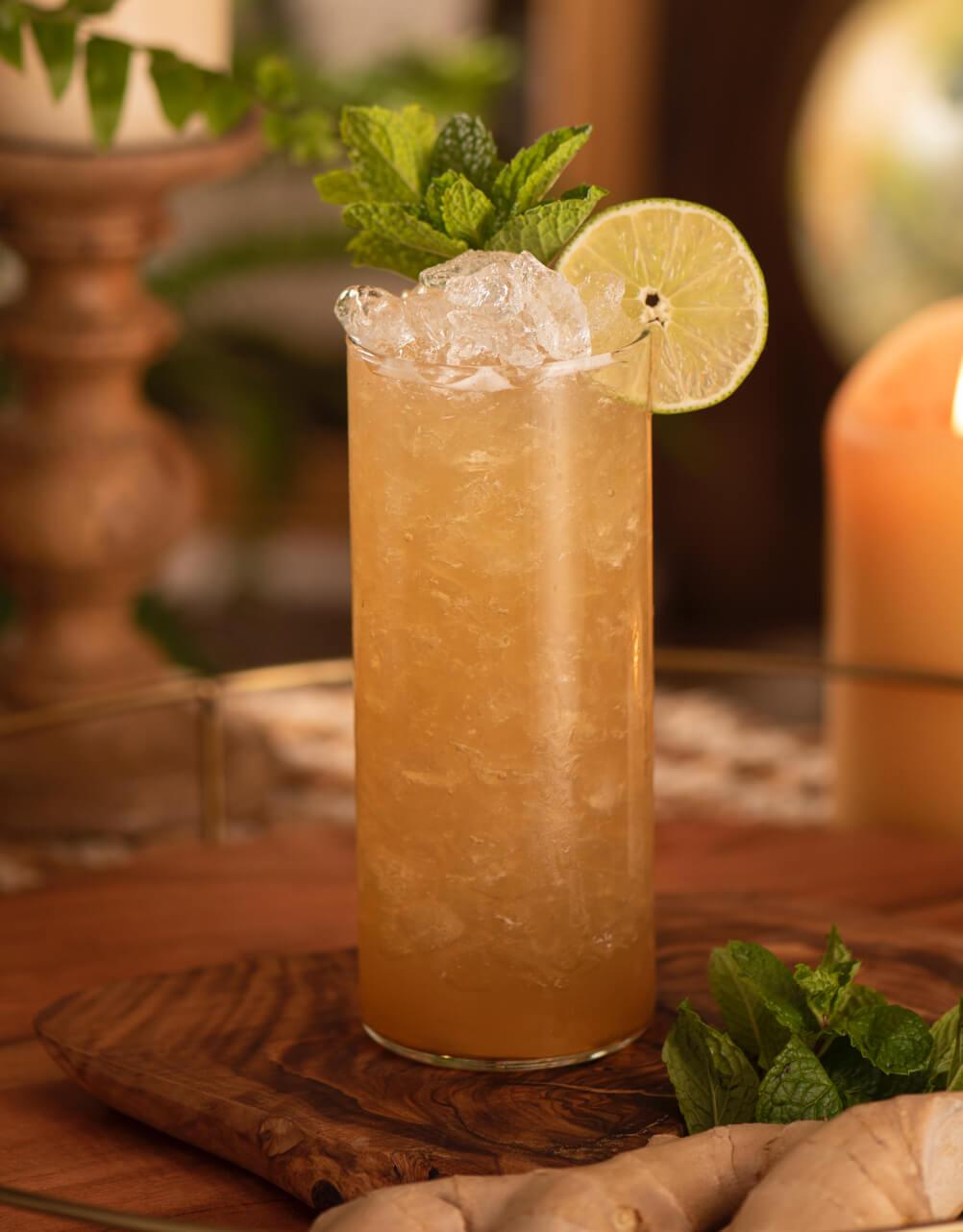 Zaya Apple Ginger cocktail