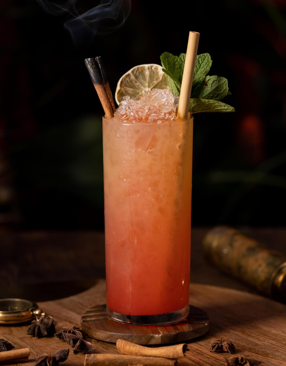 Zaya Zombie cocktail