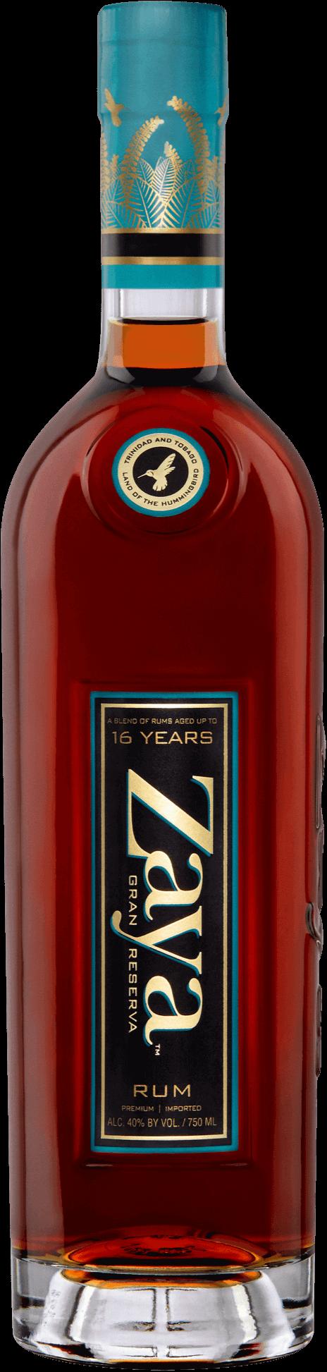 zaya gran reserva rum bottle
